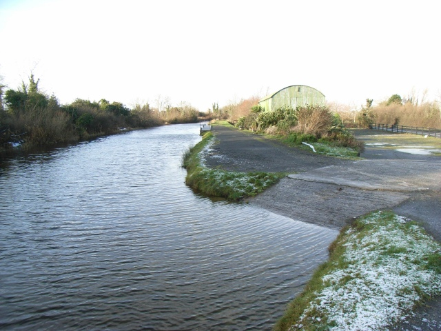 Slipway at the Royal Canal Amenity Group, near Leixlip, Co. Kildare