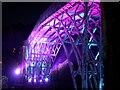 SJ6703 : The famous Iron bridge illuminated by Jon Griffiths