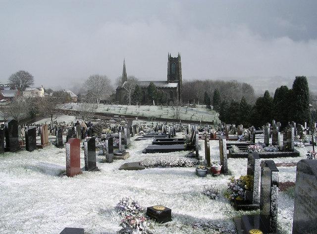 Cheadle Cemetery & St Giles Parish Church