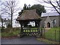 TM2654 : St.Mary's Church, Dallinghoo, Lych Gate by Geographer