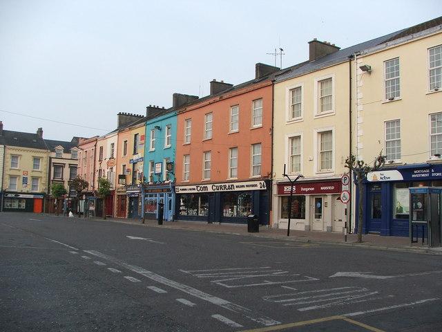 Dungarvan Main Square (west side)