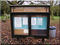 TM1747 : St.Mary Maglalene Church Notice Board, Westerfield by Adrian Cable