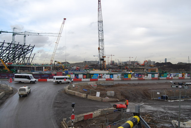 2012 Olympic site (building site)