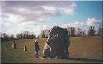 SU1070 : Avebury stones by Trevor Rickard