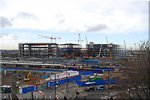 TQ3884 : A new shopping Centre being built by Stratford Station (3) by N Chadwick