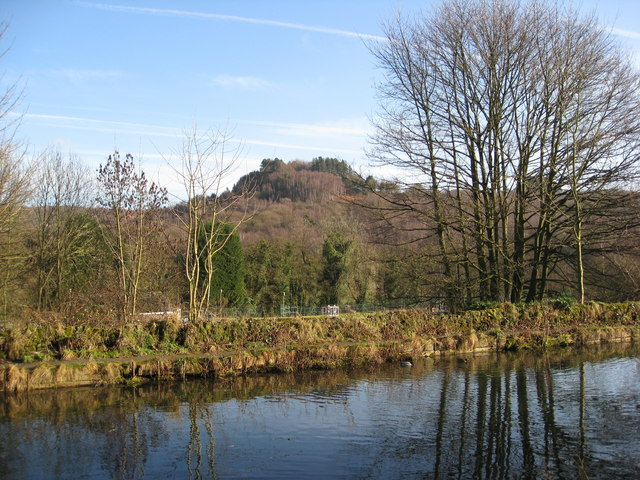 High Peak Junction - View across the Cromford Canal