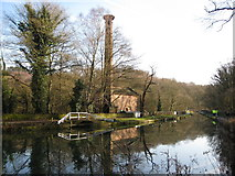 SK3155 : Cromford Canal and Leawood Pump by Alan Heardman