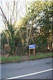 SU5985 : New signs round the site by Bill Nicholls