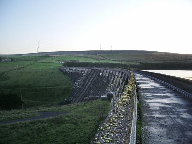 Baitings Reservoir Dam