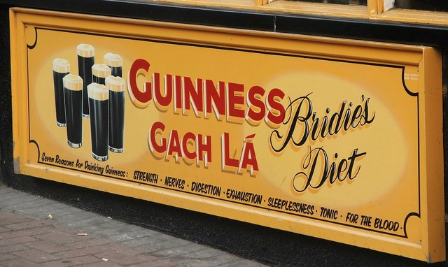 Ah! Guinness is good for you