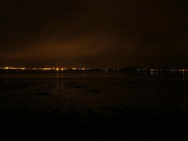 Dungarvan by night