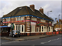 TQ2182 : The Fisherman's Arms, Harlesden by Stephen McKay