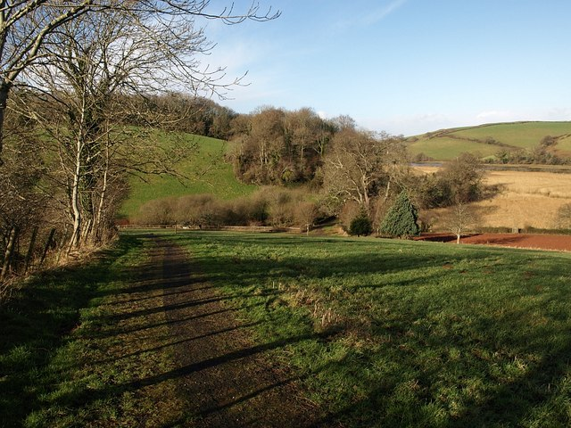 Dart Valley Trail north of Sharpham