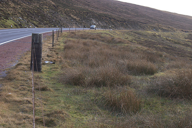 A970 at the head of Petta Dale