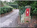 SY7191 : Stinsford: postbox № DT2 67 by Chris Downer