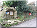 ST5707 : Melbury Osmond: postbox № DT2 97 by Chris Downer
