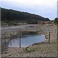 SN7391 : Esgair Fraith mine by Rudi Winter