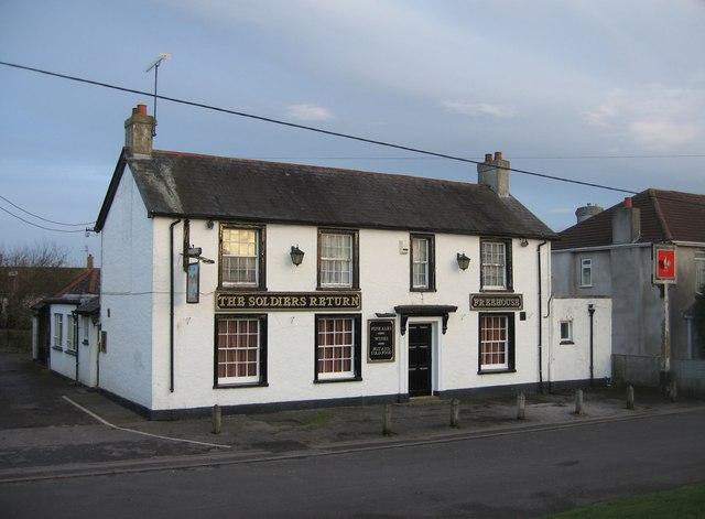 A closed pub by Sandy B