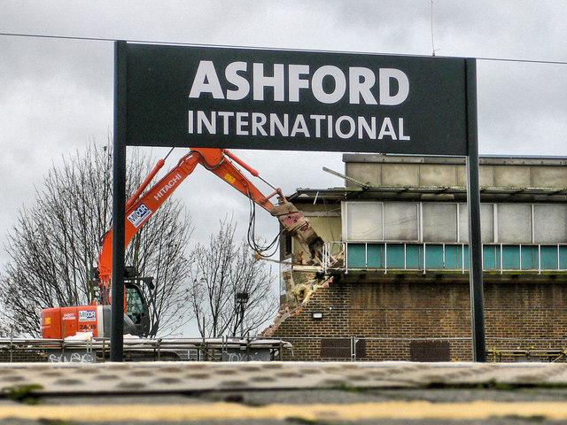 Ashford : Power Signal Box