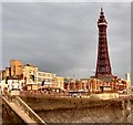 SD3036 : Blackpool Tower by Gerald England