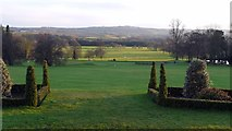 NZ1265 : Ornamental parkland and view south from Close House mansion by Andrew Curtis