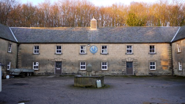 18th Century stable block north-west of Close House