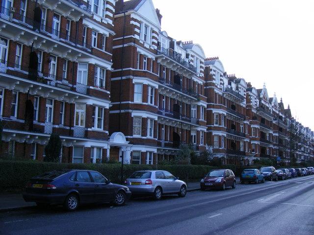 Mansion blocks Prince of Wales Drive