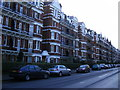 TQ2876 : Mansion blocks Prince of Wales Drive by PAUL FARMER