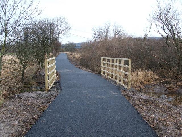 Footbridge on Cycle Route 7