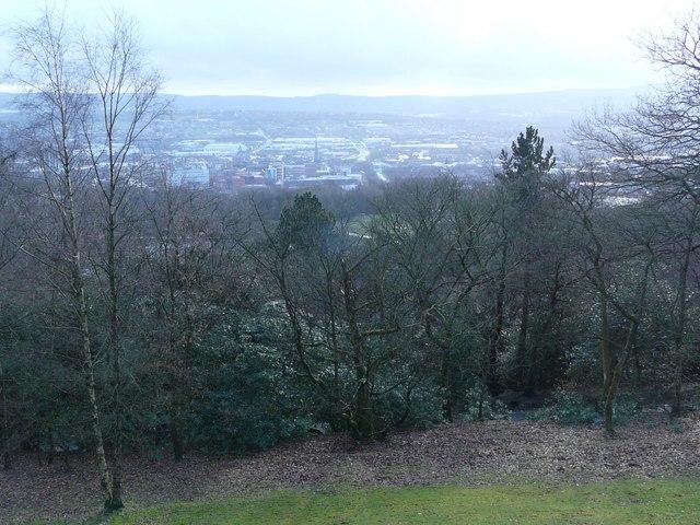 Blackburn Town view