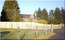 NJ6102 : A house by the old Deeside Railway bridge by Stanley Howe