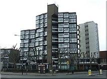 TQ3179 : Buildings on Lambeth Road by Thomas Nugent