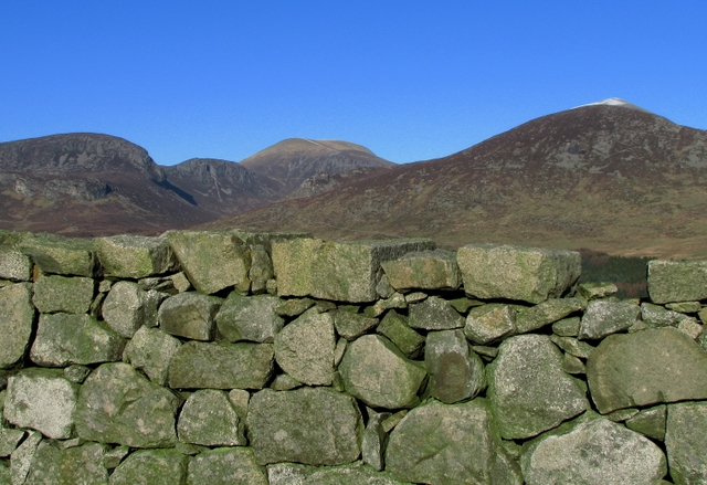 The Mourne Wall near Carrick Little