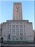 SJ3490 : George's Dock Ventilation and Control Station at the Pier Head by Eirian Evans