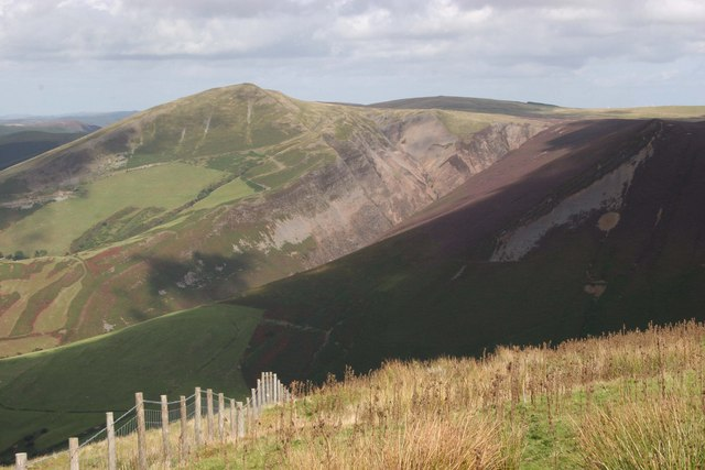 Foel Fadian and intervening valleys