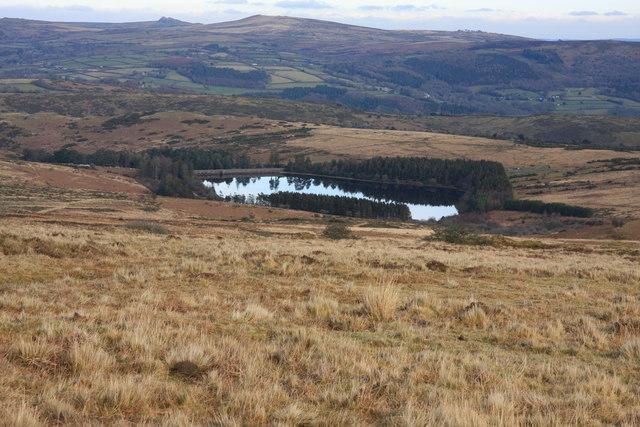 Venford Reservoir from Holne Ridge