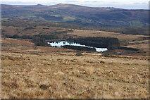 SX6870 : Venford Reservoir from Holne Ridge by Guy Wareham
