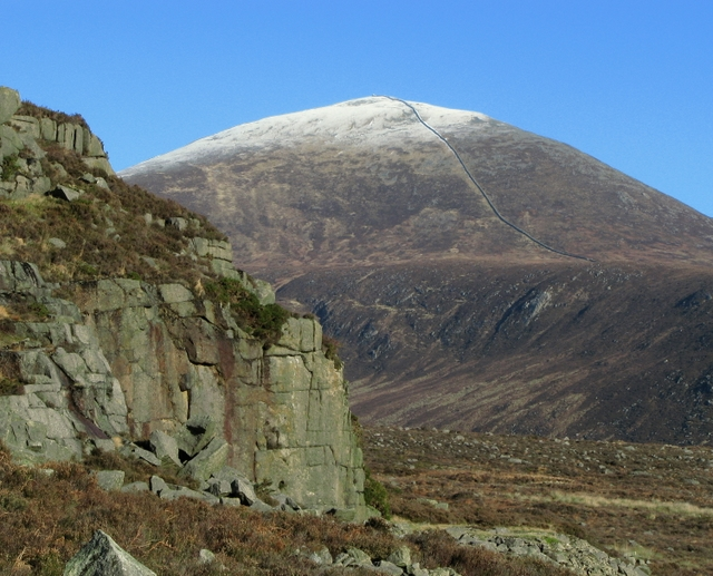 Percy Bysshe and Slieve Donard