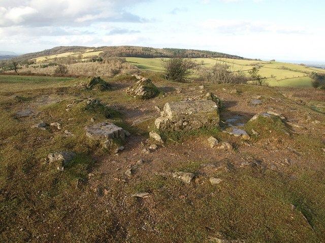 Summit of Cothelstone Hill