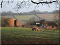 TQ4940 : Derelict Oast House at Nore Farm, Blackham, East Sussex by Oast House Archive