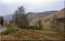 SK1695 : The packhorse bridge at Slippery Stones by Steve  Fareham