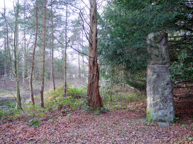 Skelton Park Ironstone Pillar, Close House