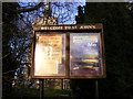 TM2749 : St.John's Church Notice Board by Geographer