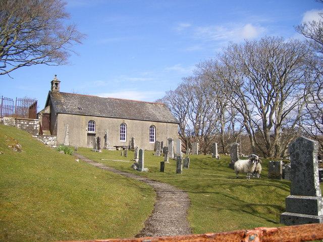 Kilninian Church, Isle Of Mull