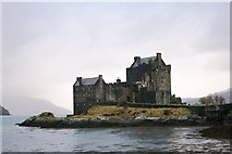 NG8825 : Eilean Donan Castle by Andrew Wood