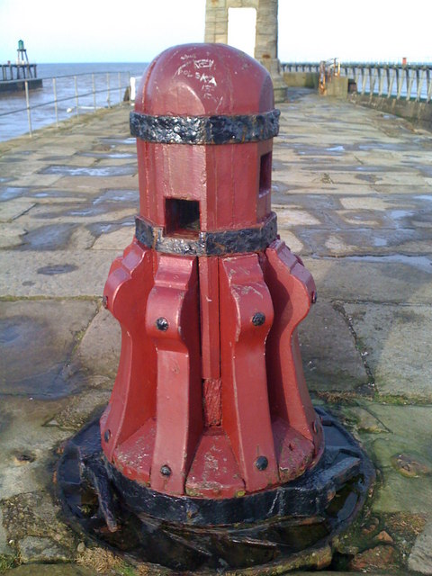 Capstan, Whitby East Pier