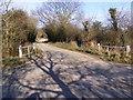 TM4387 : Cucumber Lane, Weston by Geographer