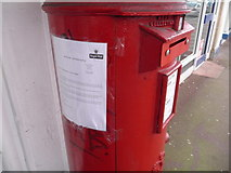 SZ0894 : Winton: postbox with restricted slot width by Chris Downer
