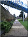 SP3379 : City wall, Lady Herbert's garden by E Gammie