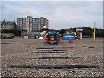 TQ2804 : Two Sisters, Hove Beach by Simon Carey